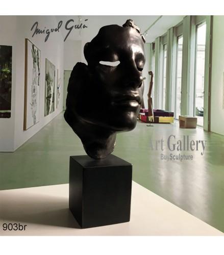 Escultura Mascara de Diego