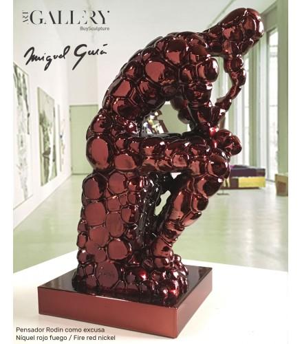 Pensador Rodin como excusa