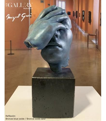 Reflexión Bronce Azul