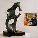 Escultura Pensador de Rodin Espacios