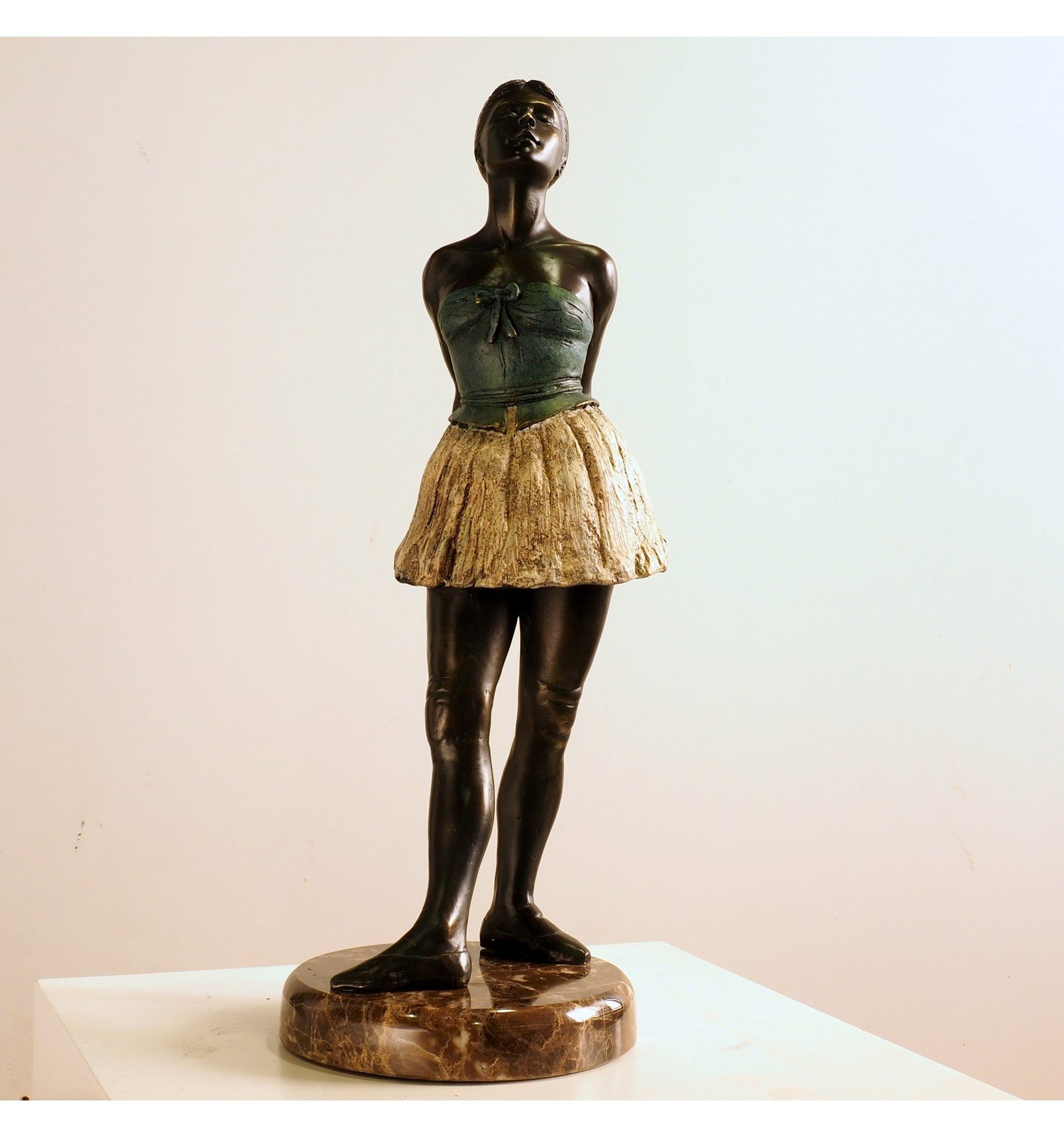 degas ballerina sculpture - HD 1600×1710