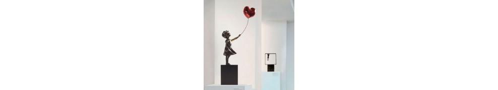 Esculturas de niños