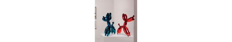 Comprar esculturas Pop Art en galería de arte contemporáneo