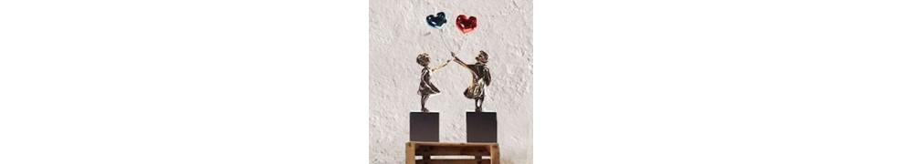 Comprar esculturas Street Art en galería de arte contemporáneo
